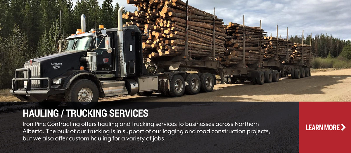 Hauling and Trucking Services Grande Prairie