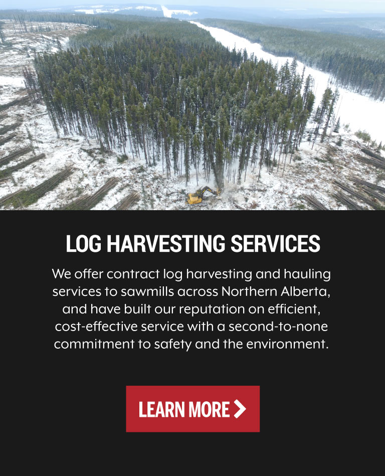 Log Harvesting Services Grande Prairie