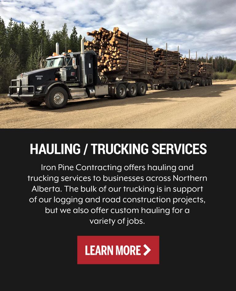Hauling / Trucking Services Grande Prairie